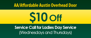 $10 Off, AA/Affordable Austin Overhead Door